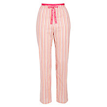 Buy Calvin Klein Multi Stripe Pyjama Pants, Pink Online at johnlewis.com