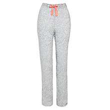 Buy Calvin Klein Carved Floral Pyjama Pants, Grey Online at johnlewis.com