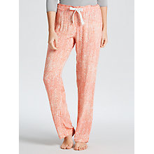 Buy Calvin Klein Graphic Dot Pyjama Pants, Pink Online at johnlewis.com