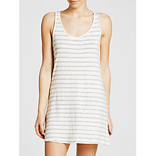 Buy Splendid Stripe Chemise, White/Grey Online at johnlewis.com