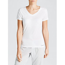 Buy Calvin Klein V-Neck Pyjama Top, White Online at johnlewis.com