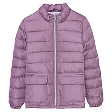 Buy Mango Kids Girls' Waterproof Quilted Coat Online at johnlewis.com