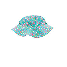 Buy John Lewis Girls' Ditsy Floral Sun Hat, Blue Online at johnlewis.com