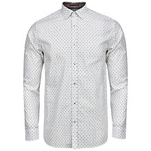 Buy Ted Baker Autumn Paisley Print Shirt, White Online at johnlewis.com