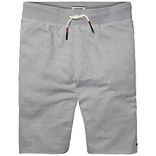 Buy Hilfiger Denim Basic Heather Shorts, Light Grey Online at johnlewis.com