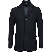 Buy Ted Baker Evalast 2-in-1 Jacket, Navy Online at johnlewis.com