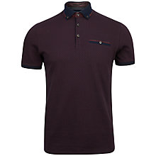 Buy Ted Baker Disjak Jacquard Polo Shirt Online at johnlewis.com