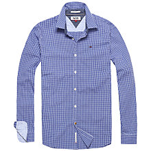 Buy Hilfiger Denim Basic Stretch Shirt, Sodalite Blue Online at johnlewis.com