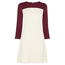 Buy Oasis Clourblock Skater Dress, Multi Online at johnlewis.com