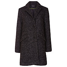 Buy Sugarhill Boutique Layla Textured Coat, Grey Online at johnlewis.com