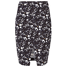 Buy Sugarhill Boutique Gina Floral Sketch Skirt, Navy Online at johnlewis.com