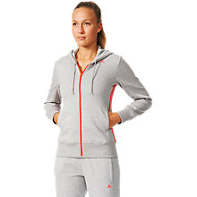 Buy Adidas Essentials Mid 3-Stripes Training Hoodie Online at johnlewis.com