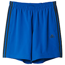 Buy Adidas Cool365 Woven Shorts, Blue Online at johnlewis.com