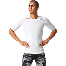 Buy Adidas Techfit Chill Short Sleeve Training Top Online at johnlewis.com