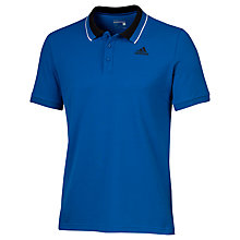Buy Adidas Essentials Polo Shirt, Blue Online at johnlewis.com