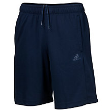 Buy Adidas Essentials Training Shorts, Navy Online at johnlewis.com