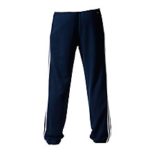 Buy Adidas Essential 3 Stripe Training Trousers, Collegiate Navy Online at johnlewis.com