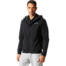Buy Adidas S3 Full Zip Hoodie, Black Online at johnlewis.com