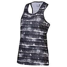 Buy Adidas All-Over Print Prime Tank Top, Grey/White Online at johnlewis.com