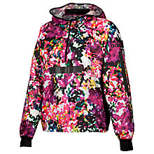Buy Adidas Allover Print Training Windbreaker, Shock Pink/Multi Online at johnlewis.com