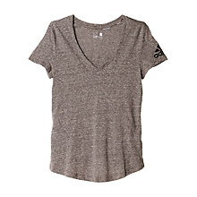 Buy Adidas The V Tee Training Top Online at johnlewis.com