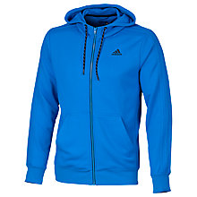Buy Adidas Essentials The Hood Training Hoodie, Blue Online at johnlewis.com