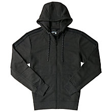 Buy Adidas Essentials Zip Through Hoodie, Black Online at johnlewis.com