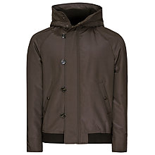 Buy Reiss Diddy Hooded Jacket, Bitter Online at johnlewis.com