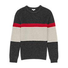 Buy Reiss Buck Colour Block Jumper, Multi Online at johnlewis.com