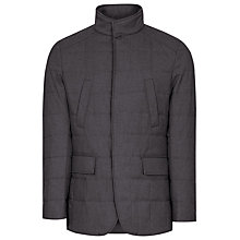 Buy Reiss Everest Quilted Jacket, Dark Grey Online at johnlewis.com