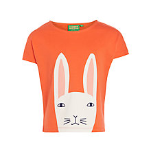 Buy Donna Wilson for John Lewis Bunny T-Shirt, Red Online at johnlewis.com