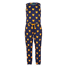 Buy Donna Wilson for John Lewis Fox Print Jumpsuit, Navy Online at johnlewis.com