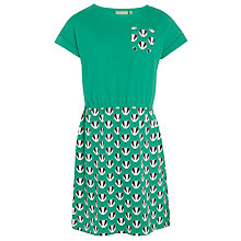 Buy Donna Wilson for John Lewis Girls' Badger Dress and Headband Set, Green Online at johnlewis.com