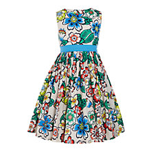 Buy John Lewis Girls' Floral Prom Dress, Multi Online at johnlewis.com