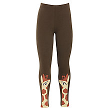Buy Donna Wilson for John Lewis Giraffe Print Leggings, Brown Online at johnlewis.com