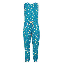 Buy Donna Wilson for John Lewis Girls' Raindrop Jumpsuit, Green Online at johnlewis.com