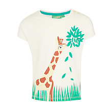 Buy Donna Wilson for John Lewis Giraffe T-Shirt, White Online at johnlewis.com
