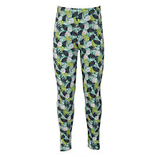 Buy John Lewis Girls' Palm Leaves Print Leggings, Multi Online at johnlewis.com