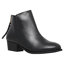 Buy Carvela Trooper Block Heeled Ankle Boots Online at johnlewis.com