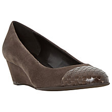 Buy Dune Angela Wedge Heeled Pumps Online at johnlewis.com
