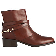 Buy L.K. Bennett Romilly Block Heeled Ankle Boots Online at johnlewis.com