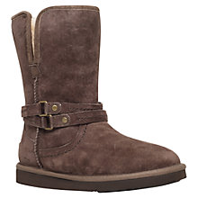Buy UGG Palisade Flat Heeled Calf Boots Online at johnlewis.com