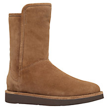 Buy UGG Abree Short Flat Heeled Calf Boots Online at johnlewis.com
