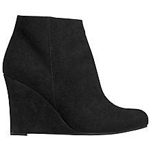 Buy L.K. Bennett Elissa Suede Ankle Boot, Black Online at johnlewis.com