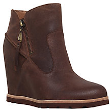 Buy UGG Myrna Wedge Heeled Ankle Boots Online at johnlewis.com