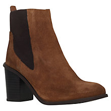 Buy Carvela Tilly Block Heeled Chelsea Ankle Boots Online at johnlewis.com