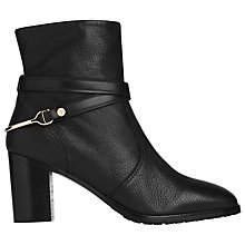 Buy L.K. Bennett Ruth Ankle Boots, Black Online at johnlewis.com