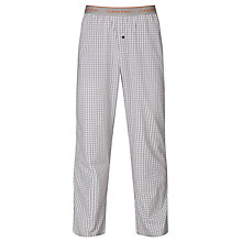 Buy Calvin Klein Ardsley Check Lounge Pants, Blue Online at johnlewis.com