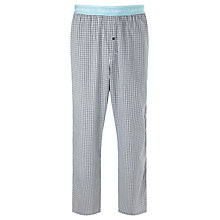 Buy Calvin Klein Juniper Plaid Lounge Pants, Grey Online at johnlewis.com