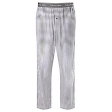 Buy Calvin Klein Ardsley Check Pyjama Bottoms, Blue Online at johnlewis.com